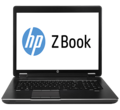 "Лаптоп HP ZBook 17 F0V55EA 17.3""  i7-4700MQ 8GB 750GB + 32GB SSD BluRay Win 7/8 Pro (F0V55EA)"
