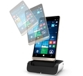 "Смартфон HP Elite x3 5.96"" QHD Multi-touch Snapdragon 820 4GB 64GB 16MP rear 8MP front and Iris camera dual SIM + Desk Dock (Y1M46EA)"