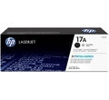 Оригинална тонер касета HP 17A Black Original LaserJet Toner Cartridge CF217A