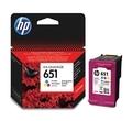 Касета с мастило HP 651 Tri-color Original Ink Advantage Cartridge C2P11AE