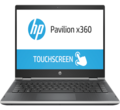 "Лаптоп HP Pavilion x360 14-cd0032nu Silver 4FM87EA Core i5-8250U 14"" FHD UWVA BV IPS Touch + WebCam 8GB 2400Mhz 1TB HDD + 16GB Optane SSD no Optic Nvidia GeForce MX130 2GB Win 10 64"